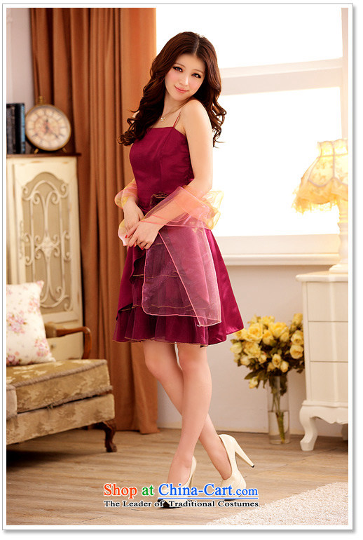 The Princess Royal feast Jk2.yy multi-tier niba before lifting strap dress dresses aubergine XXL picture, prices, brand platters! The elections are supplied in the national character of distribution, so action, buy now enjoy more preferential! As soon as possible.