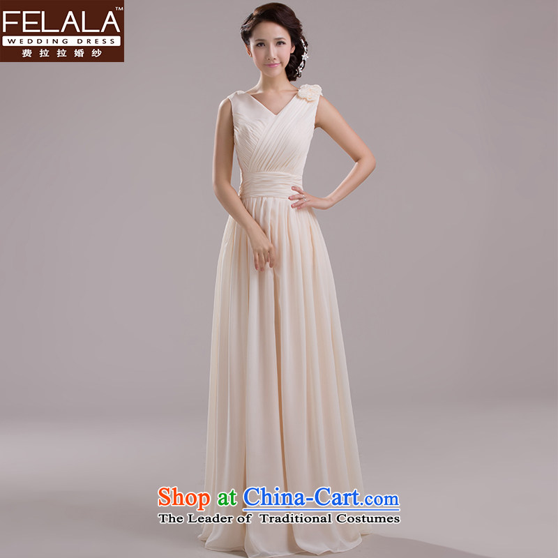 Ferrara upscale 2015 new bridesmaid skirt married long bridesmaid mission evening dress bridesmaid dress?D?XL?Suzhou Shipment