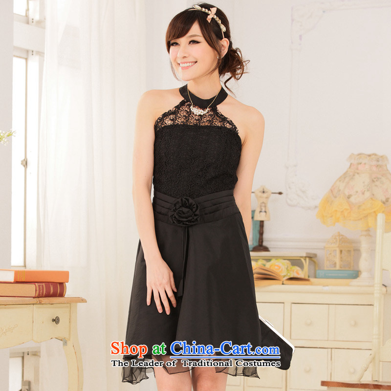 The 2014�Royal Princess hotel Jk2.yy lace video-waist also dress dresses�XXXL black