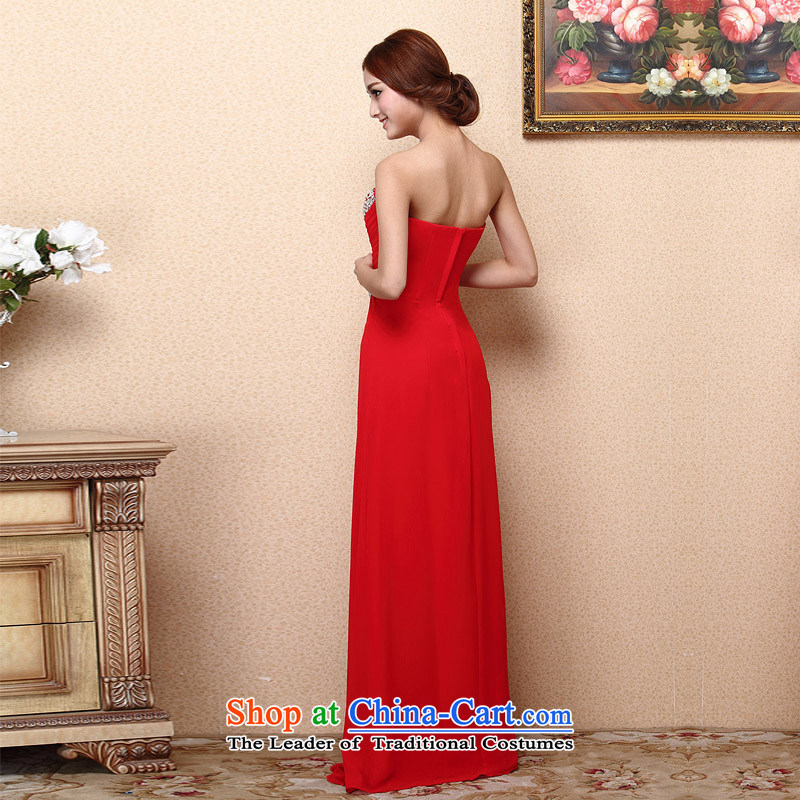 A聽new bride 2015 Red Dress bows dress long gown luxurious 684 M from a drill bride shopping on the Internet has been pressed.