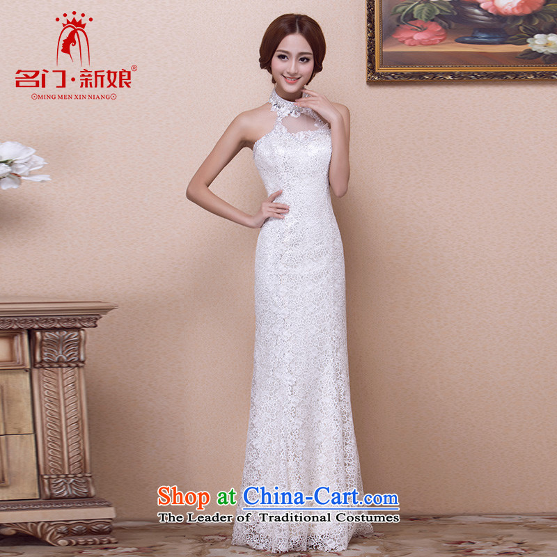 A?new dresses bride 2015 champagne color dress of drill mount also dress 691 luxurious L