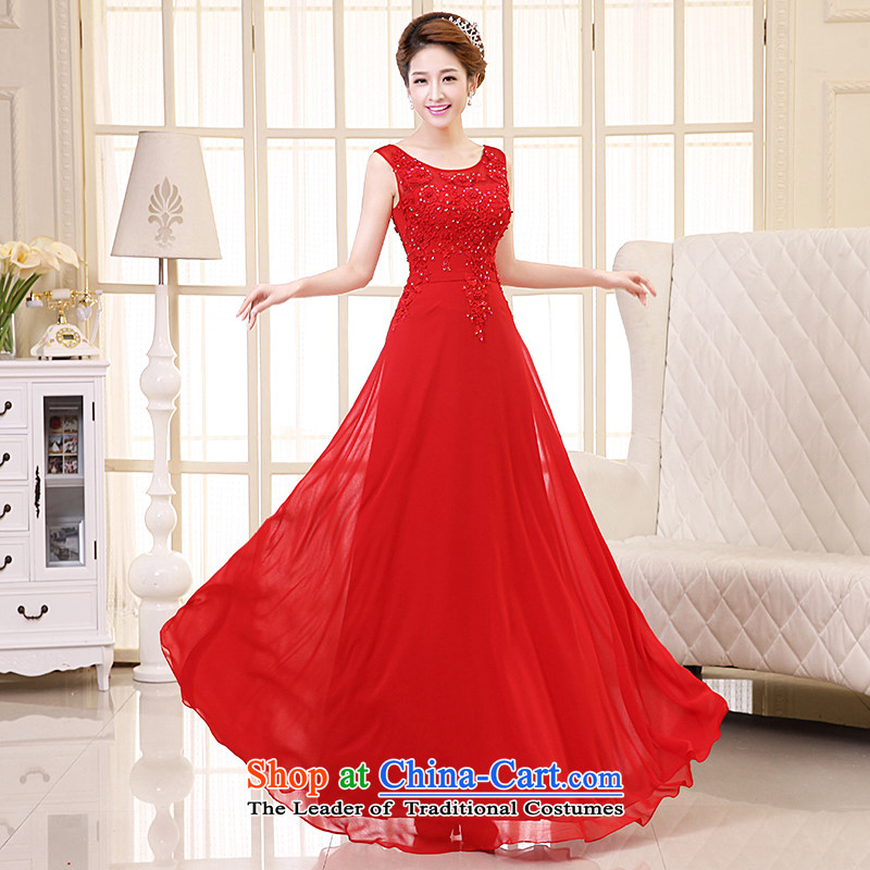 The HIV NEW 2015 wedding dresses marriage long lace flowers shoulders bride bows services dress princess skirts Sau San?L0040?RED?L