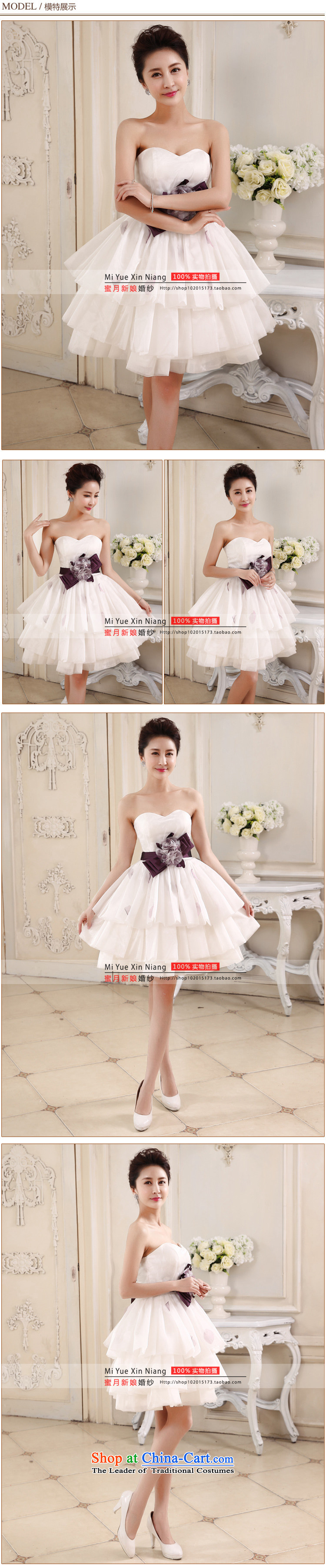 Honeymoon bride white short of 2015 bridesmaid small short skirts and chest sweet bon bon princess small short skirt evening dress party white聽S picture, prices, brand platters! The elections are supplied in the national character of distribution, so action, buy now enjoy more preferential! As soon as possible.
