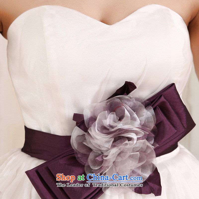 Honeymoon bride white short of 2015 bridesmaid small short skirts and chest sweet bon bon princess small short skirt evening dress party聽s honeymoon bride.... white shopping on the Internet