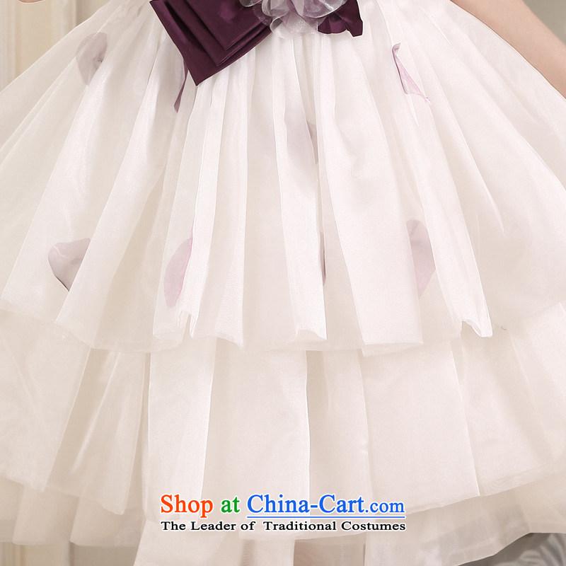 Honeymoon bride white short of 2015 bridesmaid small short skirts and chest sweet bon bon princess small short skirt evening dress partys honeymoon bride.... white shopping on the Internet