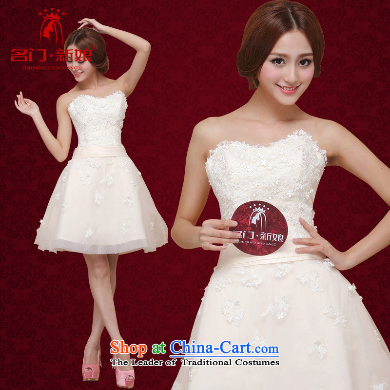 A�new bride 2015 wedding dress bridesmaid dress stereo flowers princess dress 125 S