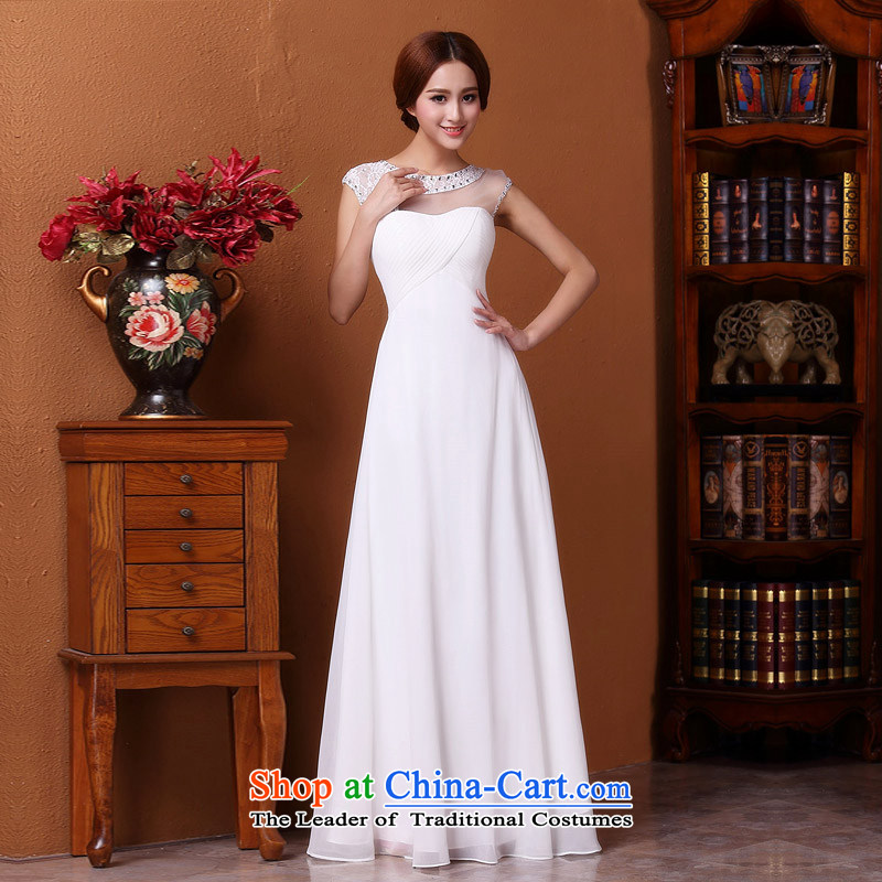 A?new 2015 bridal dresses stylish and elegant white long dresses and lace dress 591 S