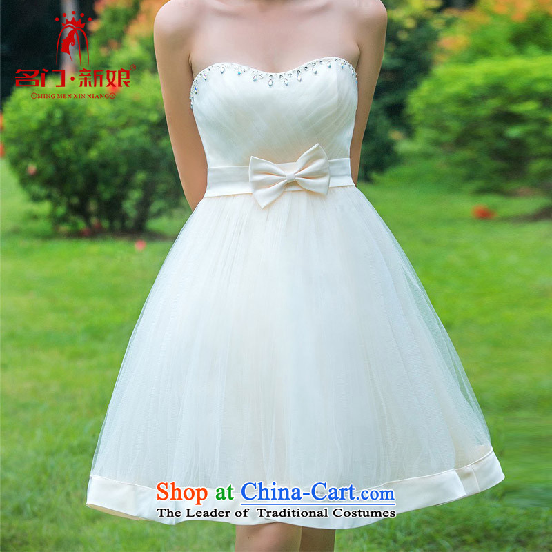 A�new bride bride 2015 dress sweet bridesmaid dress princess small dress�336 L