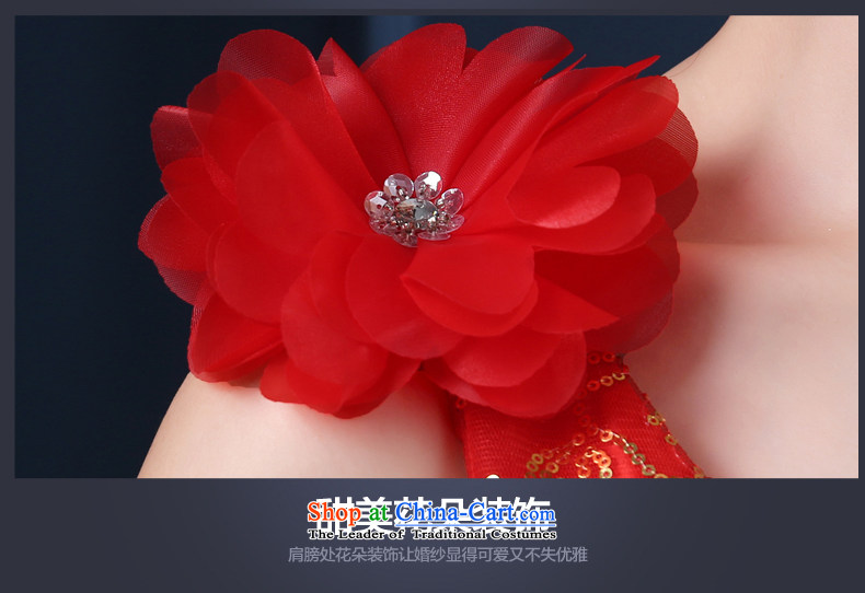 7 7 color tone 2015 National new bride front stub long after the marriage of lace red bows to small girl聽L005 qipao gown skirts聽and chest)聽S picture, prices, brand platters! The elections are supplied in the national character of distribution, so action, buy now enjoy more preferential! As soon as possible.