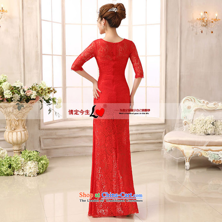 Love of the overcharged wedding dresses new marriages bows Services 2014 Red Dress long thin red Sau San S video picture, prices, brand platters! The elections are supplied in the national character of distribution, so action, buy now enjoy more preferential! As soon as possible.
