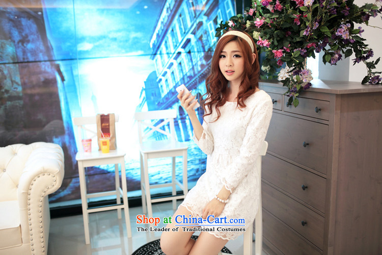 In 2015, the new card engraving lace in Sau San cuff dress dresses SW15015WhiteM picture, prices, brand platters! The elections are supplied in the national character of distribution, so action, buy now enjoy more preferential! As soon as possible.