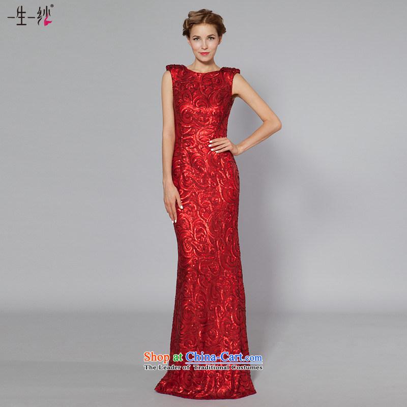 A lifetime of 2015 New wedding dress western dress on-chip Sau San Bridal Services聽40241052 bows聽red聽155_80A thirtieth day pre-sale