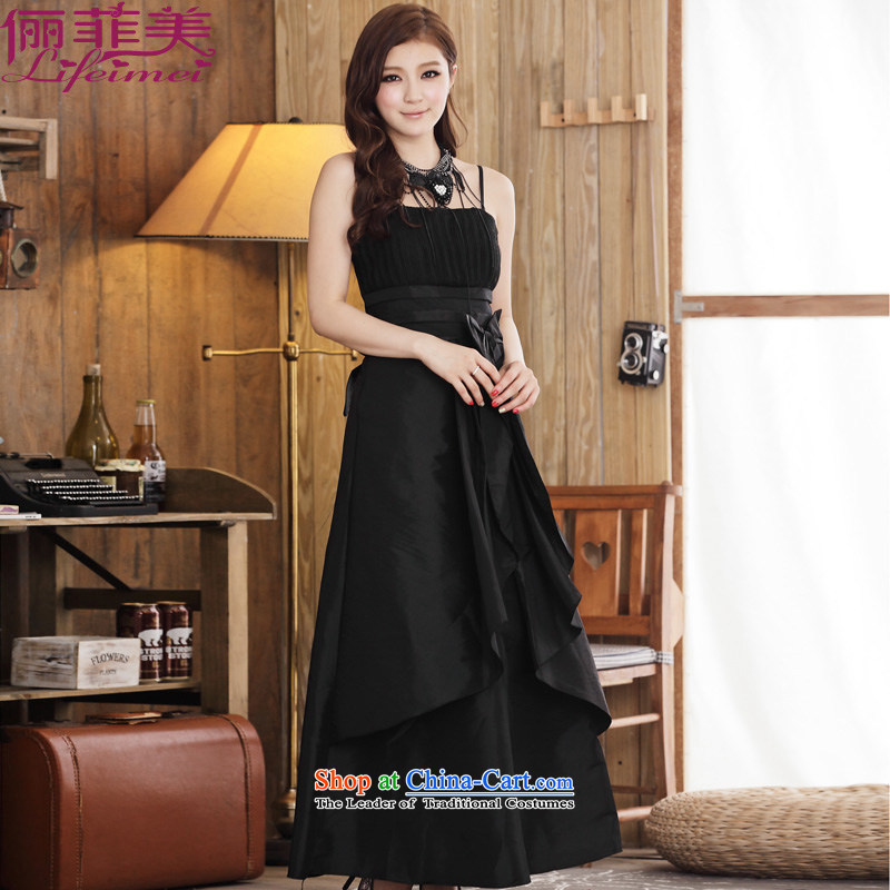 Li and the western atmosphere minimalist evening straps large A field lamings discoloration of the female banquet singing performances and sisters�XXXL black skirt suits 160-80 catty