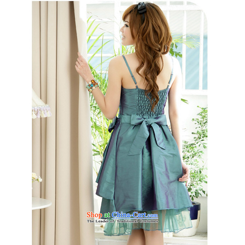 158, United States, Japan, and the rok straps for larger dress show annual banquet Sau San video thin discoloration lamings Top Loin Bow Ties small evening dressXXXL Green, 155-175 for facilitating and shopping on the Internet has been pressed.