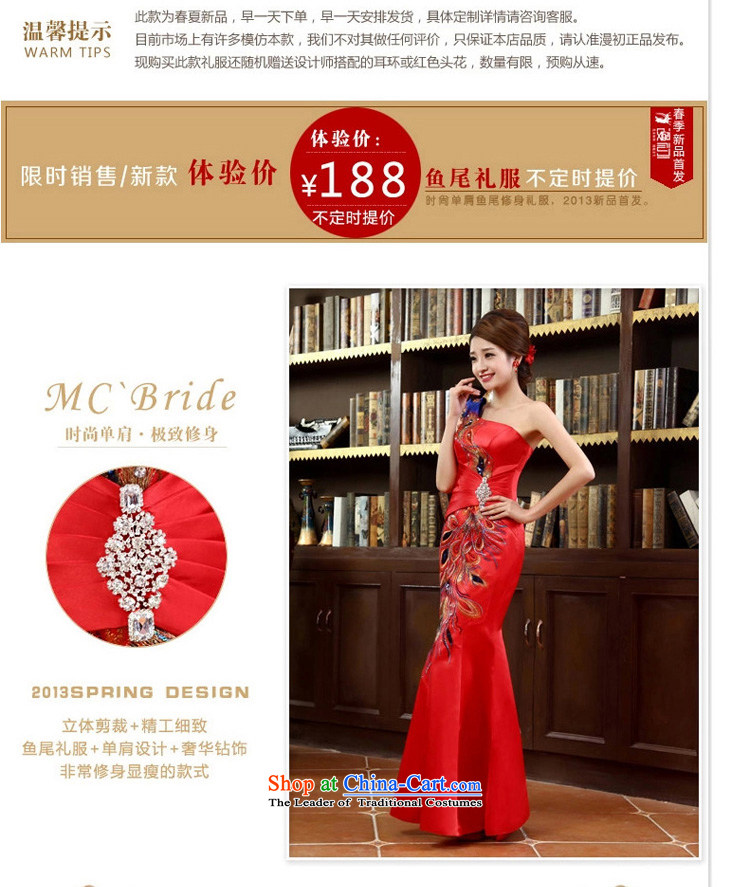 In the early 2015 new man bride dress shoulder crowsfoot satin dress long gown bridal dresses Sau San bows red XXL picture, prices, brand platters! The elections are supplied in the national character of distribution, so action, buy now enjoy more preferential! As soon as possible.