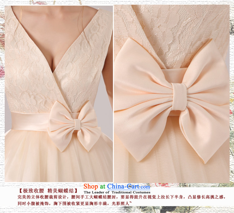 Baby bride 2014 wedding dresses shoulders deep V-neck and sexy elegant in-the-know small dress banquet hosted evening dress uniform bridesmaid dress skirt sister skirt incense fashionable colorsXL Photo, prices, brand platters! The elections are supplied in the national character of distribution, so action, buy now enjoy more preferential! As soon as possible.