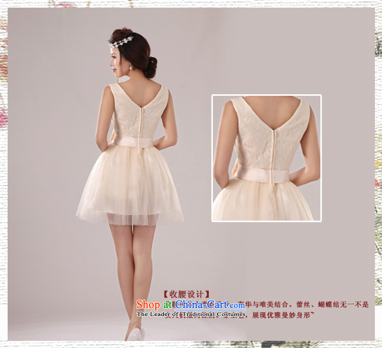 Baby bride 2014 wedding dresses shoulders deep V-neck and sexy elegant in-the-know small dress banquet hosted evening dress uniform bridesmaid dress skirt sister skirt incense fashionable colors聽XL Photo, prices, brand platters! The elections are supplied in the national character of distribution, so action, buy now enjoy more preferential! As soon as possible.