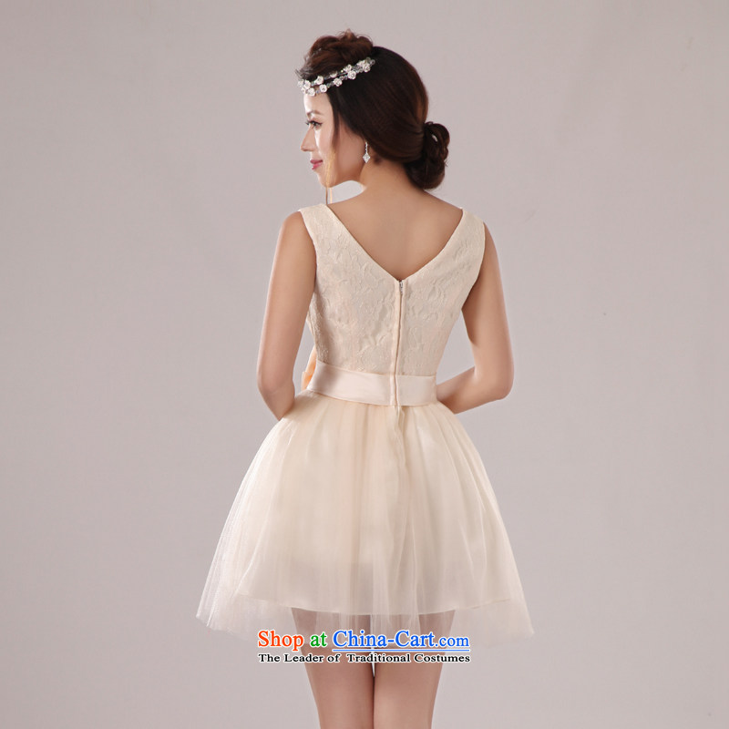 Baby bride 2014 wedding dresses shoulders deep V-neck and sexy elegant in-the-know small dress banquet hosted evening dress uniform bridesmaid dress skirt sister skirt incense fashionable colorsXL, darling Bride (BABY BPIDEB) , , , shopping on the Internet