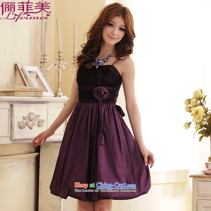 To increase the number and the female strap Top Loin of kidney large flower bud video thin thick mm evening dresses and sisters small dress dresses purple will? fit 85-115 F Jin