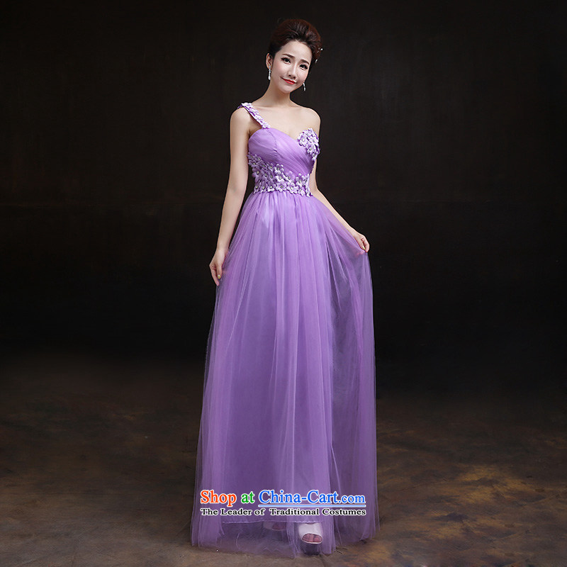 According to Lin Sha original bridesmaid services 2015 autumn and winter new long evening dresses bridesmaid bride wedding evening dress sister bridesmaid mission?E?M