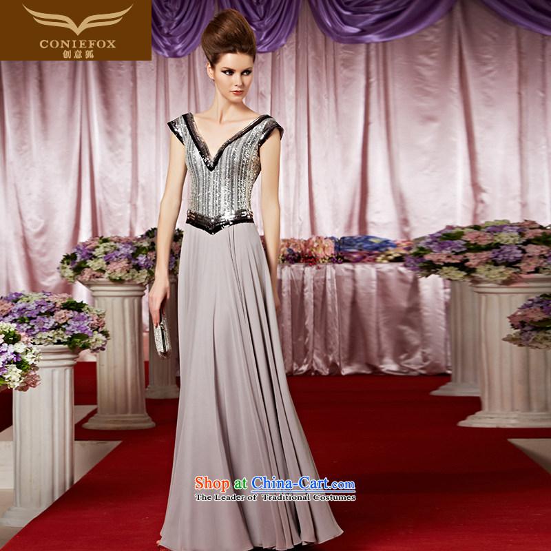 Creative Fox evening dresses new stylish light slice evening dress ...