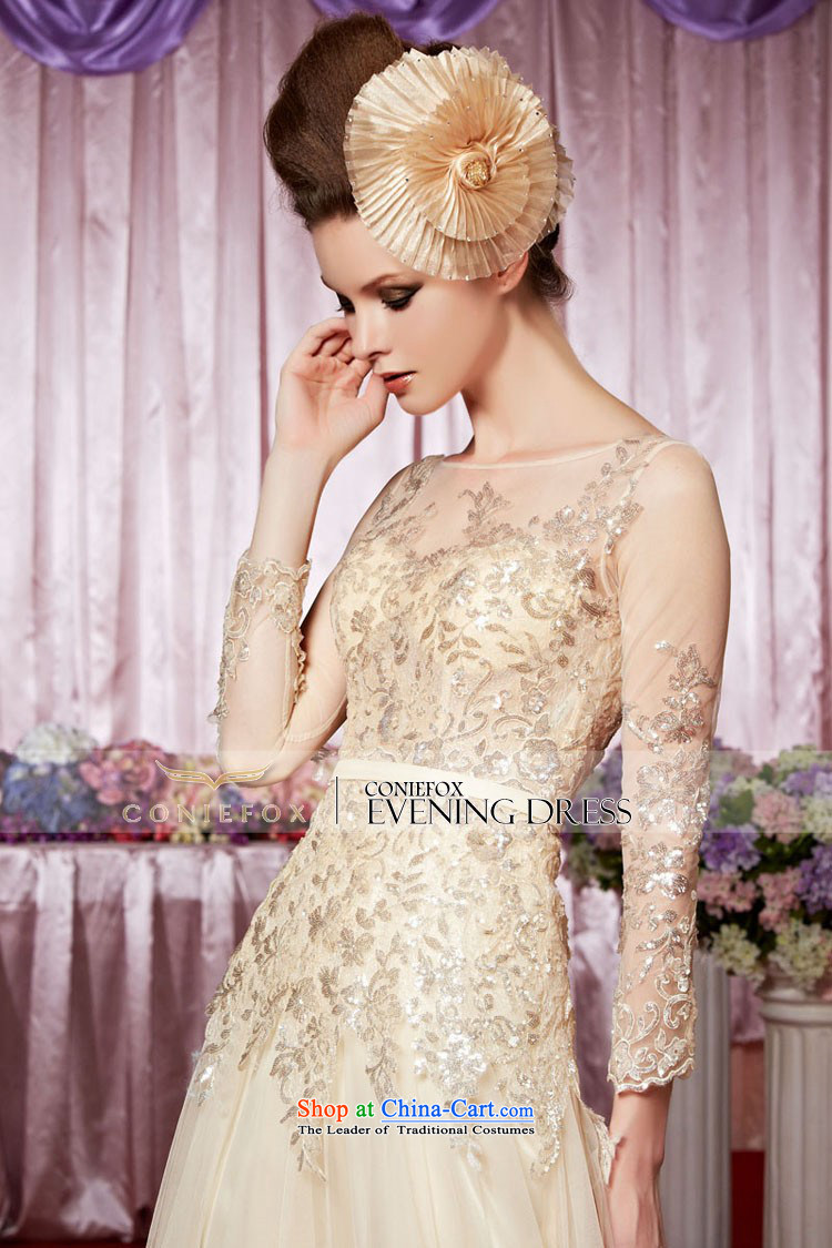The kitsune elegant evening dress creative long banquet evening dresses long-sleeved evening drink service events including dress bride wedding dress hospitality services 30339 picture color聽pictures, prices, XL brand platters! The elections are supplied in the national character of distribution, so action, buy now enjoy more preferential! As soon as possible.