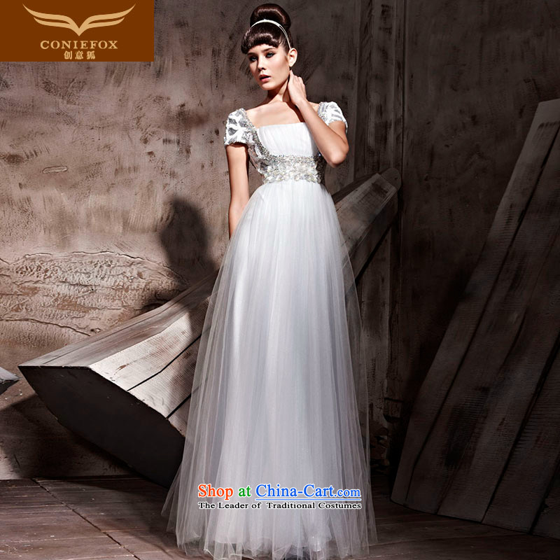 Creative Fox evening dresses and women shoulder bag evening drink service to align the dress long gown dress sit back and relax chair Hospitality Services 81038 performances dress gray�S