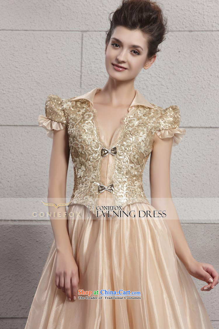 Creative fox evening dresses gold on chip banquet evening dresses creative fox evening dresses gold on chip banquet evening dresses long bridesmaid dress bride wedding dresses ombrellifo Gallery