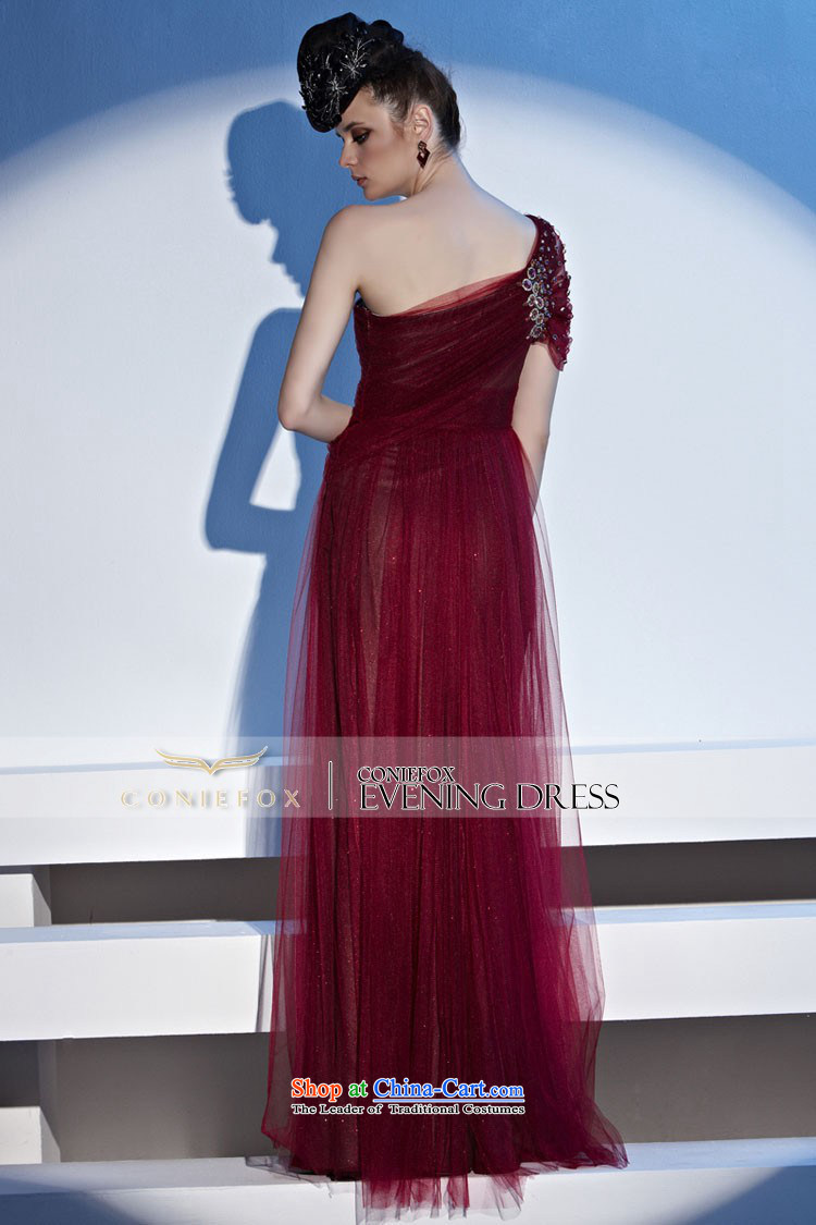 Creative Fox evening dresses wine red bride wedding dress elegant shoulder long evening banquet hosted services dresses drink red carpet evening dresses 81152 color聽pictures, pictures S Price, brand platters! The elections are supplied in the national character of distribution, so action, buy now enjoy more preferential! As soon as possible.