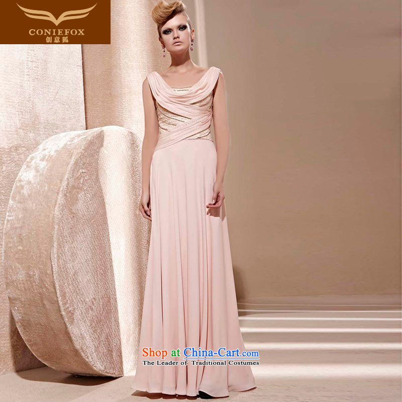 Creative Fox evening dresses sit back and relax in one of the Banquet dress diamond long bridesmaid evening dress bows services fall to preside over long skirt 81261 dress photo color聽L