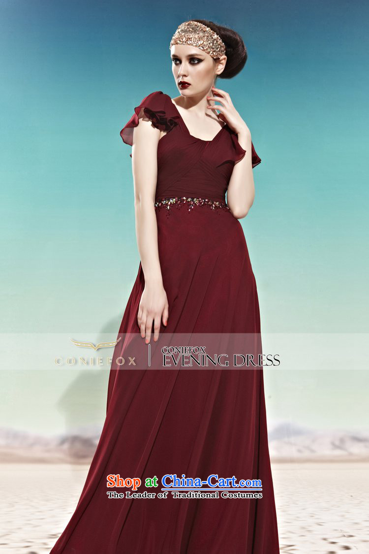 Creative Fox evening dress western banquet evening dresses long ...
