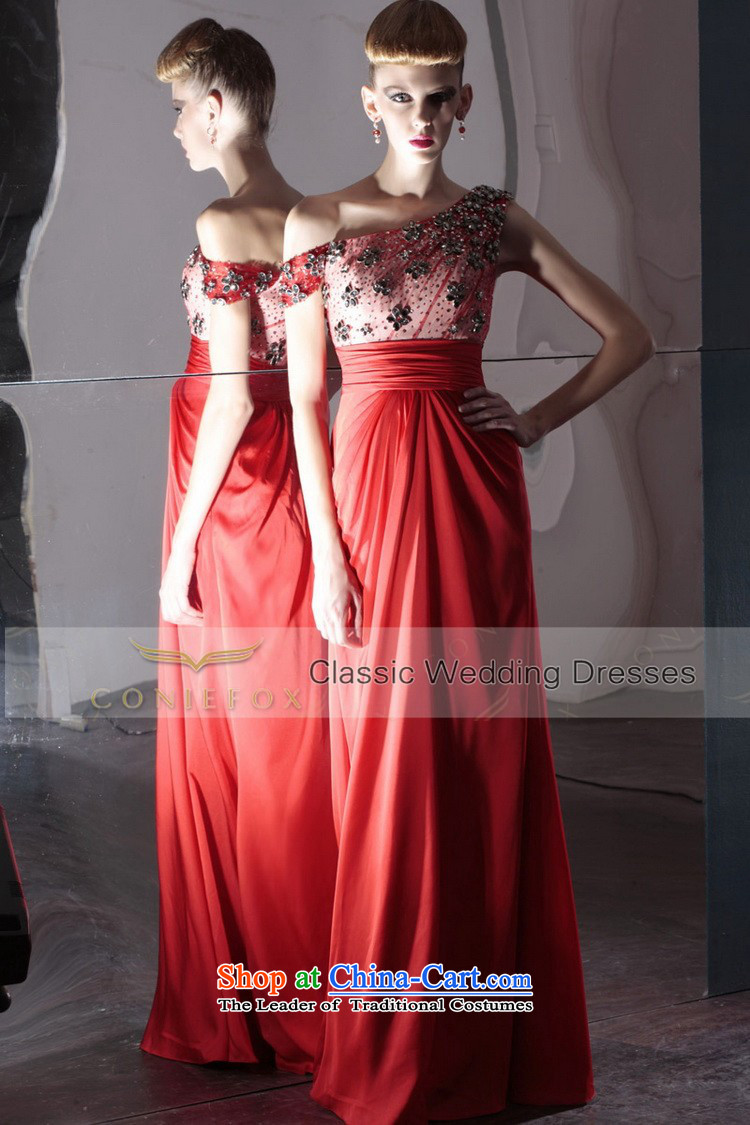 Creative Fox evening dresses red bride wedding dress irrepressible wedding photography dress bows service banquet evening dress will preside over 80986 Red聽S picture, prices, brand platters! The elections are supplied in the national character of distribution, so action, buy now enjoy more preferential! As soon as possible.