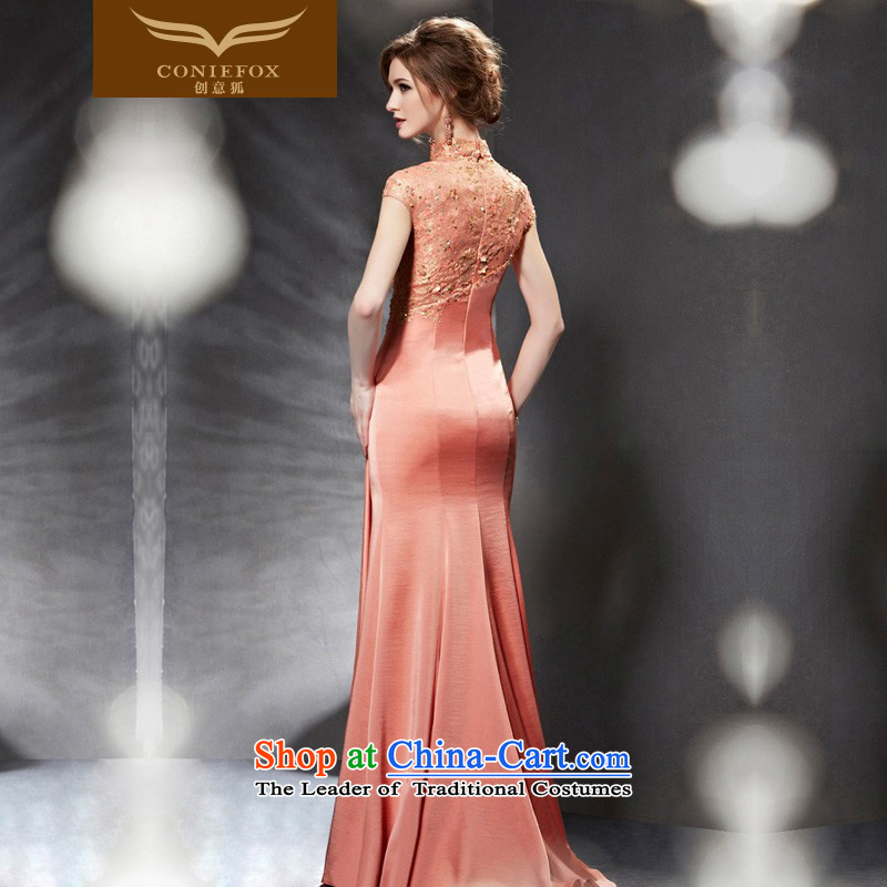 Creative Fox evening dresses 2015 new evening dresses long bridesmaid bows services Sau San banquet service evening dress skirt annual meeting presided over 82065 color pictures , dresses creative Fox (coniefox) , , , shopping on the Internet