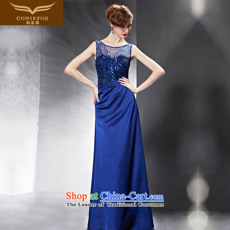 Creative Fox evening dresses聽 2015 new dresses under the auspices of the annual meeting of the Sau San qipao gown bows service performance evening dresses banquet dress skirt 82082 color picture聽XXL