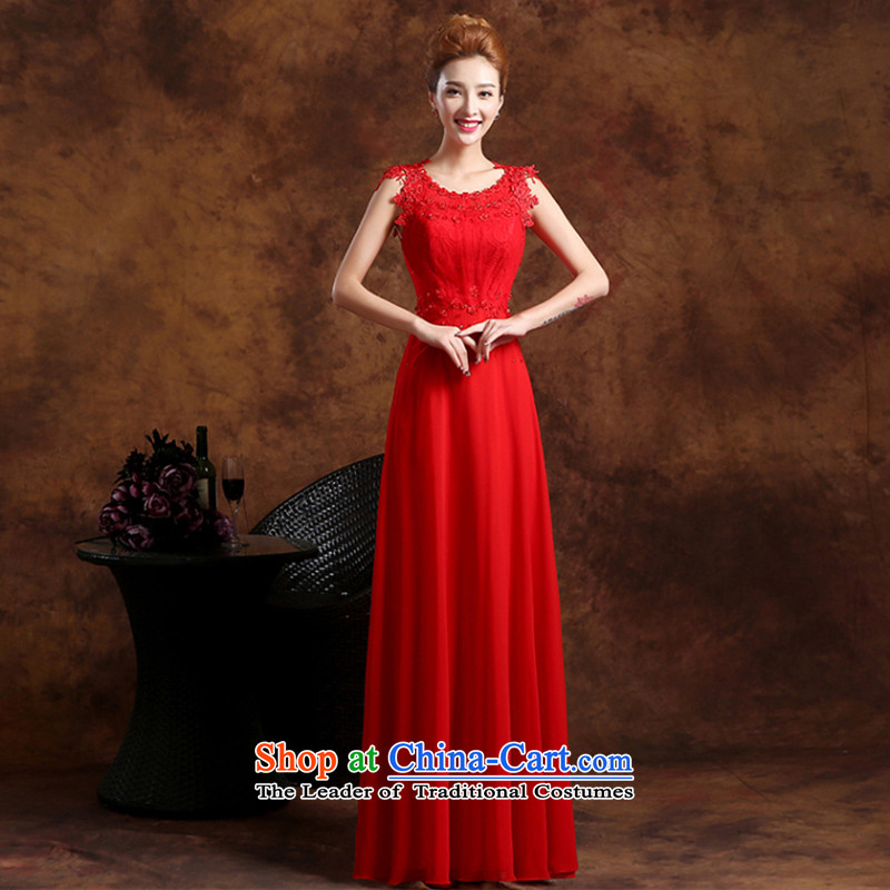 The Republika Srpska divas long autumn 2015 new bride bows word services shoulder high waist large Sau San Fat MM video thin brides pregnant women wedding dress bows�XL( red rushed necklace earrings)