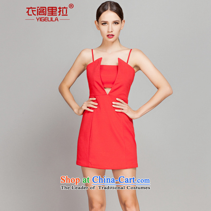 Yi Ge lire aristocratic Sau San video skinny dress bridesmaid banquet dress bows services Annual Meeting will dress skirt red65.22 M
