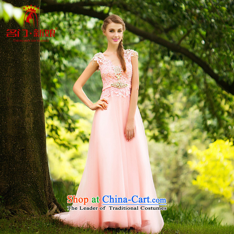 A Bride wedding dress bride bows services wedding dresses new 2015 winter long gown 267 S