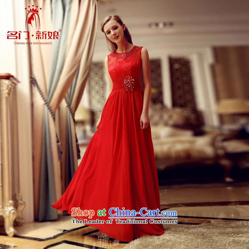 A Bride bows services 2015 stylish bride wedding dresses wedding dress red bows services 699 redL