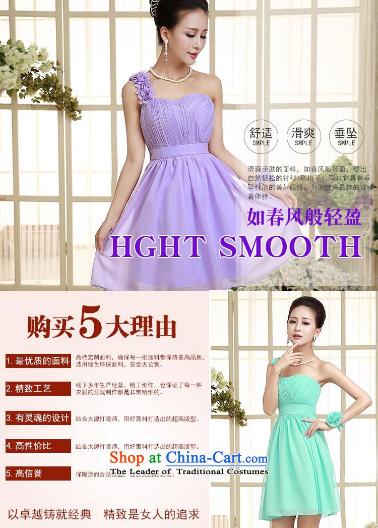 C.o.d. sweet princess flowers shoulder gauze small dress breast ...