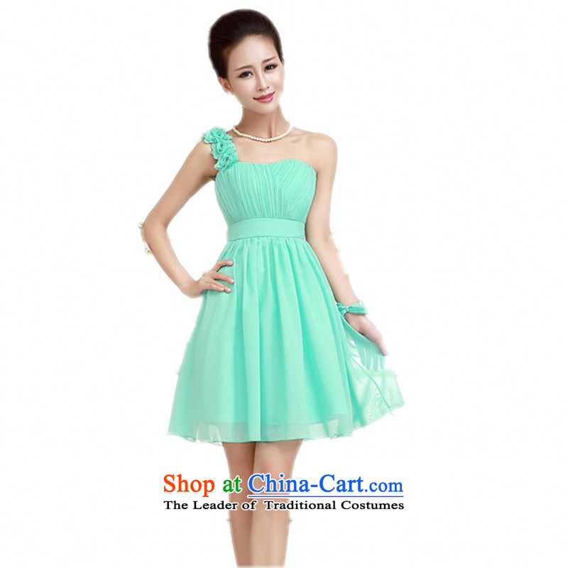 C.o.d. sweet princess flowers shoulder gauze small dress breast ...