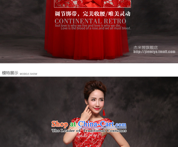 Jie mija bows Service Bridal Fashion 2014 new red marriage wedding dresses moderator evening dresses female long red Sau San XXL picture, prices, brand platters! The elections are supplied in the national character of distribution, so action, buy now enjoy more preferential! As soon as possible.