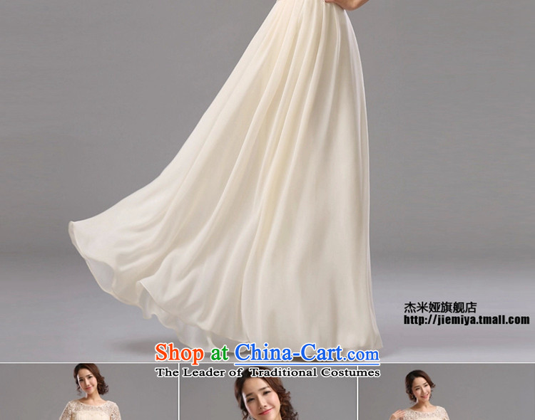Jie mija bride evening dresses 2015 New Service bridesmaid dresses bows bridesmaid mission small dress skirt sister skirt long long S picture, prices, brand platters! The elections are supplied in the national character of distribution, so action, buy now enjoy more preferential! As soon as possible.