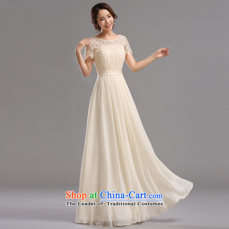 Jie mija bride evening dresses 2015 New Service bridesmaid dresses bows bridesmaid mission small dress skirt sister skirt long long , Cheng Kejie mia , , , shopping on the Internet