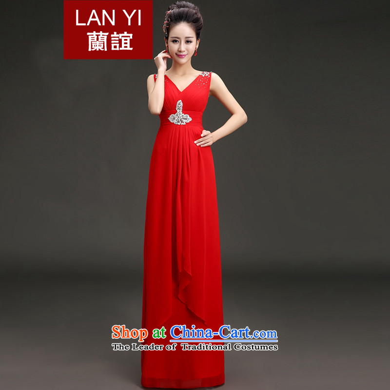 In�2015 the bride bows dresses yi won annual meeting was chaired by version will new dress�code red petticoat L waist 2.1 foot