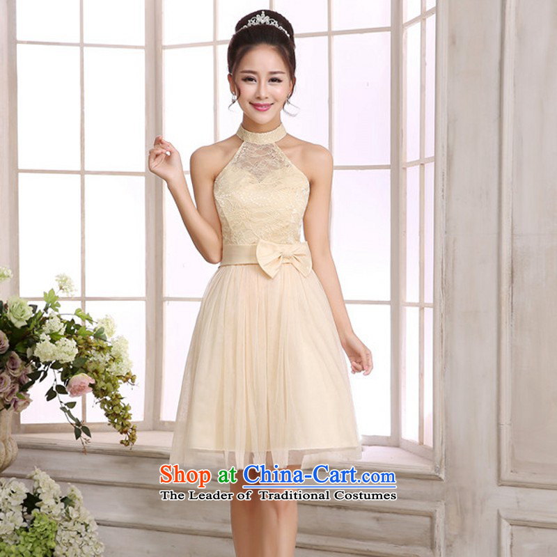 C.o.d. short, bon bon small dress hang also sexy women dresses gauze short skirt wedding sister bridesmaid skirt large annual dresses champagne color short skirts are code