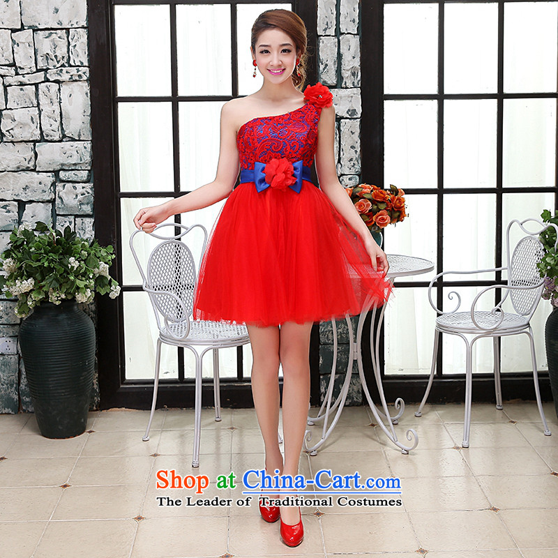 Hei Kaki wedding dresses 2015 new hang also shoulder the Korean version of the Princess Bride and chest straps short of the irrepressible bon bon Skirt Style 2 BRIDESMAID M
