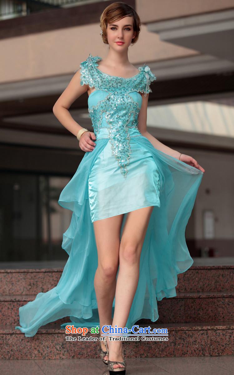 Doris Qi dress sexy dress tail-dress western foreign trade dress ...