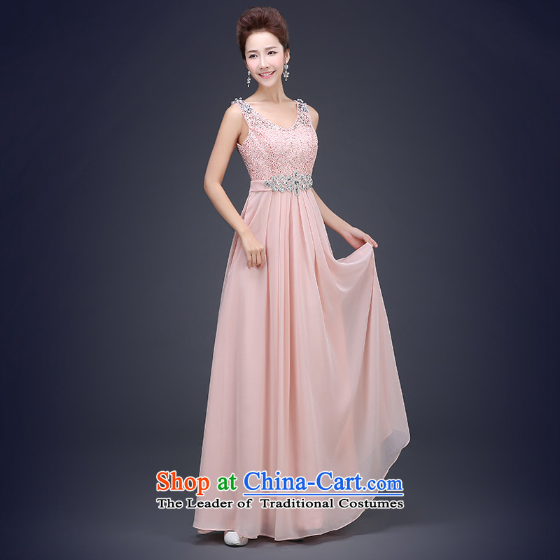 The Republika Srpska divas long autumn 2015 new evening dress shoulders Top Loin of large Sau San Fat MM THIN bridesmaid services video sister skirt reception banquet party dress red long drink service?S