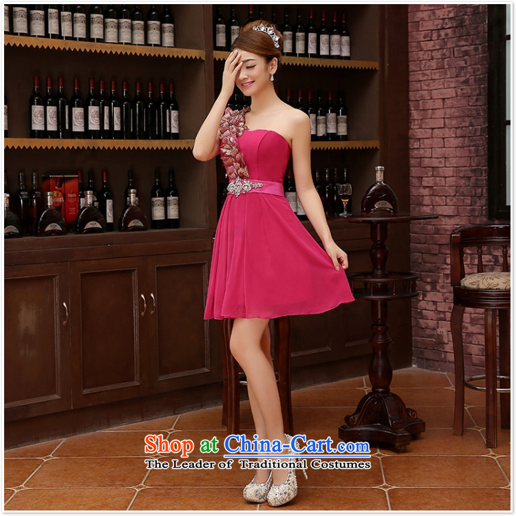 2015 new sister bridesmaid mission bridesmaid dress lace anointed chest bow ties small dress evening dress Korean RedXL Photo, prices, brand platters! The elections are supplied in the national character of distribution, so action, buy now enjoy more preferential! As soon as possible.
