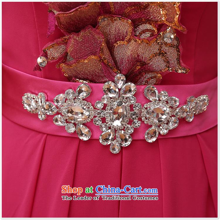 2015 new sister bridesmaid mission bridesmaid dress lace anointed chest bow ties small dress evening dress Korean Red XL Photo, prices, brand platters! The elections are supplied in the national character of distribution, so action, buy now enjoy more preferential! As soon as possible.